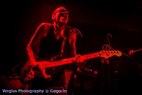 Ra Djan at Gagarin plays Cube on Fender Strat