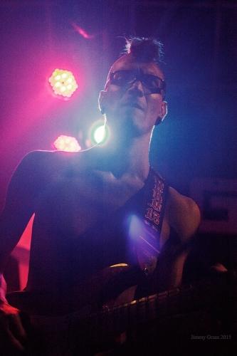Ra Djan  gig at Gagarin club, Tel Aviv. Concert for Atlantida project - support to Sasha Sokolova