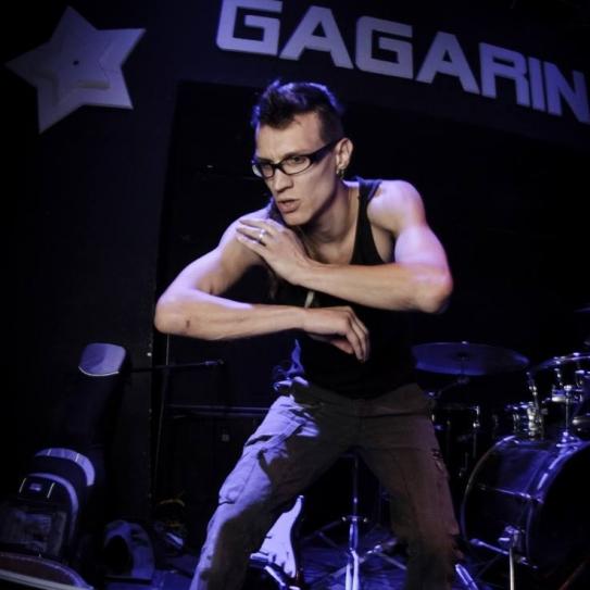 Ra Djan  gig at Gagarin club, Tel Aviv.
