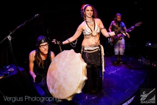Ra Djan plays Anima Fuga. With Michal Glikberg - Tribal Fusion Goddess